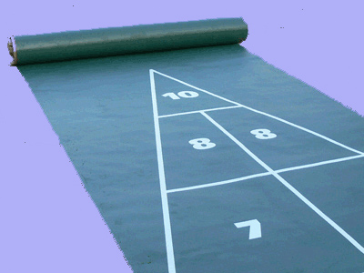 Just shuffleboard courts