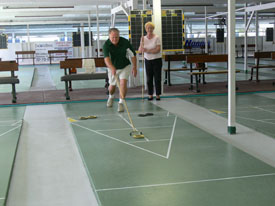 How to play Shuffleboard 1